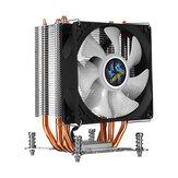 CPU Cooler Fan 4 Copper Heatpipesipes 90mm RGBA urora Light Cooling Fan for Compurter Intel LGA 2011 CPU Cooler Heatsink Radiator