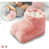 USB Electric Foot Warmer Built-in Heater Timer Function Power Saving Safe Start Warm Foot Cover Feet Heating Pad