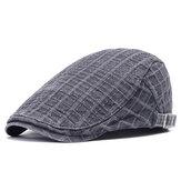 Mens Unisex Engeland Style Painter Beret Hat Newsboy Hat