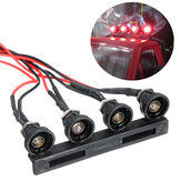 WPL C24 1/16 Head RC Car LED Light W/WO Light Seat