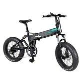 [EU Direct] FIIDO M1 Pro 12.8Ah 48V 500W 20 tommer Foldbar knallertcykel 40 km / t Tophastighed 130 KM Kilometertal Elektrisk cykel