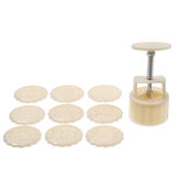 100g/50g Plastic Mooncake Mold Cookie Cutter with Cookie Stamp Chocolate Moon cake Mould for Press Moon Cake Cookie