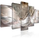 5ピース絵画キャンバス壁アート絵画家の装飾抽象壁アート画像用リビングルームホームフレームなし