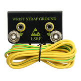 ESD Grounding Kit antiestático Wrist Strap Cinturón Ground Conector con cable