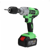 98/128/188VF Brushless Cordless Impact Wrench Drill LED Light Li-Ion Battery Electric Impact Wrench