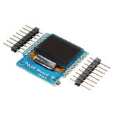 3Pcs Geekcreit® OLED Shield V2.0.0 per Wemos D1 Mini 0.66
