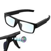 XANESG216G1080P5Milyon Piksel Dokunmatik Kumanda Mini Smart Gözlükler Kamera Spor Video Kamera