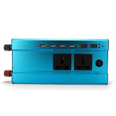 1000W/500W 4USB Interface Solar Power Inverter 12V/24V DC to 220V AC Converter Charger