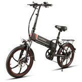 Samebike XW-20LY 10AH 48V 350W 20 pouces Vélo Électrique Pliable Intelligent 35 km / h Max. Vitesse 70 km Kilométrage Charge maximale 120 kg de vélo électrique