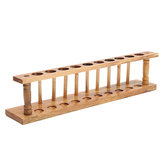 21mm Wooden Laboratory Test Tube Rack 10 Holes