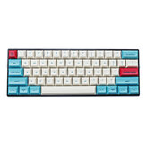 MechZone 75/133 Tasten Hawaii Keycap Set DSA-Profil PBT Sublimation Keycaps für 61/64/68/104/108 Tasten Mechanische Tastaturen