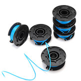 6pcs Replacement Spool String Line For Ryobi One And AC14RL3A Grass Trimmer Head Garden Tool