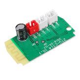 3Wx2 Mini Bluetooth Приемник Модуль с 4-омными громкоговорителями Мощность Усилитель Аудиосистема Декодирование MP3-модуля