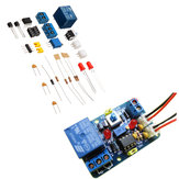 3pcs DIY LM393 Voltage Comparator Module Kit with Reverse Protection Band Indicating Multifunctional 12V Voltage Comparator Circuit
