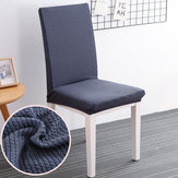 Honana WX-880 Elegant gebreide Jacquard Stretch eetkamerstoel Kussenovertrekken Chair Protector Cover Home Decor