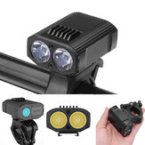 XANES DL14 Cycling Bike Bicycle M365 Electric Scooter Motorcycle E-bike Front Light Headlamp