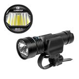 Lumintop B01 850lm 210m USB ricaricabile luce della bici faro 21700 18650 torcia elettrica