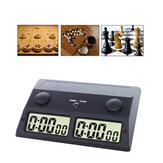 3 az 1-ben professzionális sakkóra hordozható társasjáték elektronikus riasztás leállító időzítő digitális társasjáték visszaszámláló óra