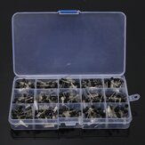Geekcreit® 600 Pcs TO-92 NPN PNP Bipolar Transistor 15 Nilai Assortment Kit