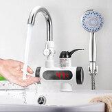 3000W Sıcaklık Ekran Anında Sıcak Su Musluğu Tanksız Elektrikli Musluk Mutfak