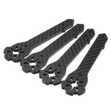4 PCS Eachine Wizard X220S FPV Racer RC Дрон Запасная часть 4 мм Frame Arm Carbon Fiber