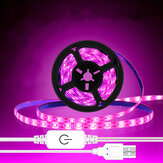 USB Grow Light Strip Hydroponic Touch dimmer Switch 2835 LED Strip For Plant Waterproof
