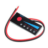 3.7V 1-7S Li-ion Lithium Battery 12-48V LiFePO4 Battery Power Indicator Board 12V Car Lead Acid Battery Level Capacity Meter with Reverse Connection