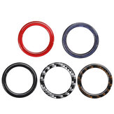 25mm Koolstofvezel Schakelaar Start Stop Knop Decoratieve Ring Trim Voor BMW E90 E60 E70 3 5 X5