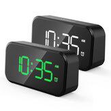 Светодиодный цифровой будильник Часы Быстрая зарядка Подсветка Отключение звука Настольный электронный будильник большого объема Часы С