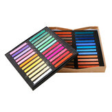 Marie's F2012 Color Chalk Painting Crayon Soft Dry Pastel Dye Hair 12/24/36/48 Colors/Set Art Drawing Set Office School Students Art Supplies