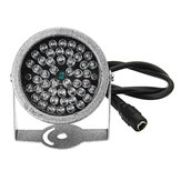 Iluminador infrarrojo invisible 940nm 48 LED IR Luces Lámpara para seguridad CCTV Cámara