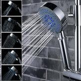 Pomme de douche à eau réglable multifonction chrome 5 modes