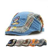 Cappello pieghevole dei bambini casuali del cappello del berreto della lettera del ricamo delle ragazze dei ragazzi dei capretti