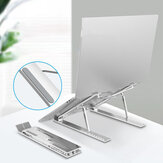 Bakeey Universal Height Adjustable Macbook Holder Heat Dissipation Tablet Desktop Stand for 10-17.3 inch Devices