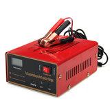 Carregador 1861826 vermelho acidificado ao chumbo da motocicleta do carro de 12 / 24V 10A 140W automaticamente