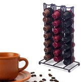 42 Coffee Capsules Storage Rack Dispenser Holder Organizador Soportes de cocina Rack de almacenamiento para Nespresso