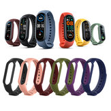 [Multi-Color] Bakeey Comfortable Lightweight Pure TPU Watch Band Strap Replacement for Xiaomi Mi Band 6 / Mi Band 5 Non-Original