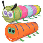 Kids Play Tents Multicolored Caterpillar Crawling Tent Tunnel Funny Development Toys