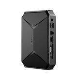 CHUWI Herobox Intel Gemini N4100 tó 8G DDR4 RAM 256G SSD Mini PC Intel UHD Graphics 600 9Gen 1,1 GHz-től 2,4 GHz-ig 4K TF kártyahely SATA frissítés 2.4G / 5G WiFi BT4.0 HD2.0 típus C