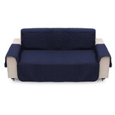 3 Seater Sofa Cover Waterproof Anti-fouling Pet Kid Seat Protector Chair Protective Slipcover Home Office Furniture Decorations Dark Blue