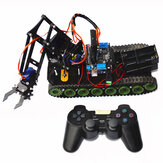 Remote Control Robot Tank Toys RC Robot Chassis Kit With Servo  PS2 Mearm