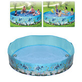 183/244cm Round Swimming Pool Home Use Garden Paddling Pool Non-inflatable Children Bathing Tub Kids Family Water Toy