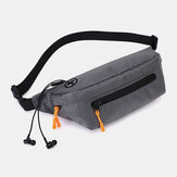 Men Waterproof Sport Belt Bag Crossbody Bag Chest Bag