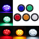 24V LED Mini Small Round Side Marker Light Truck Trailer RV Car Bullet Lamp