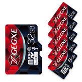 XGEGXE 8GB 16GB 32GB 64GB 128 GB vysokorychlostní paměťová karta TF s adaptérem karty fotoaparátu pro chytrý telefon tablet reproduktor reproduktor dron auto DVR