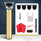 USB Professional Men Electric Capelli Clipper Trimmer Capellicut Machine Barber Strumenti Set