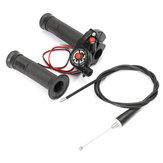 Acelerador de aceleração de ação rápida com cabo de 43 polegadas Preto 125cc 140cc 150cc Pit Bike