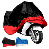 190T Impermeable Moto Cubierta UV Protector Anti Viento Lluvia Cubierta antipolvo 4XL