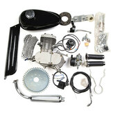 80cc 2 Stroke Cycle Bike Engine Motor Petrol Gas Kit fit Motorized Bicycle Chrome