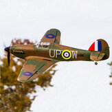 Dynam Hawker Hurricane V2 1250mm Wingspan Fighter EPO RC Airplane PNP